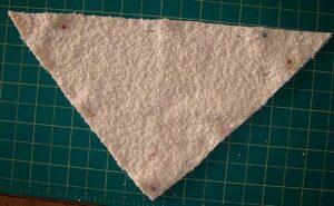 Pin fabric pieces