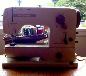 Old Bernina Record 730 sewing machine
