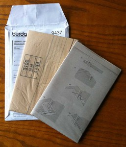 InseideThe sewing pattern Envelope