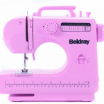 Pink kids sewing machine
