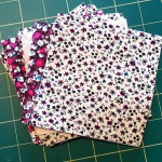 Fabric Squares Cut out