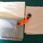 How to quilt materials