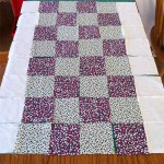 How to patchwork quilt squares