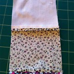 Patchwork Quilt pressed seam