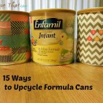 upcycled baby formula cans