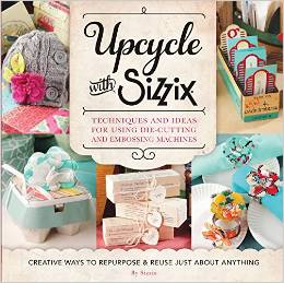 Sizzix upcycled book
